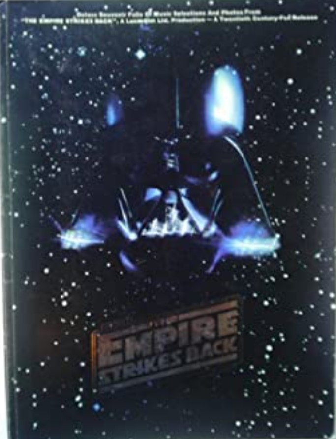 Star Wars The Empire Strikes Back: Deluxe Souvenir Folio of Music Selection