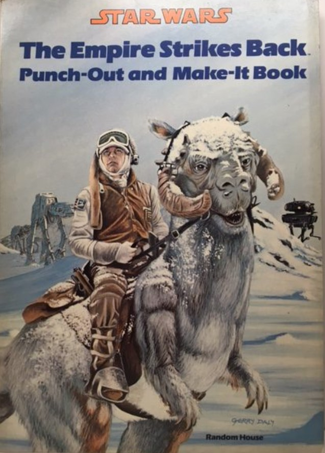Star Wars: The Empire Strikes Back Punch-Out and Make-It Book