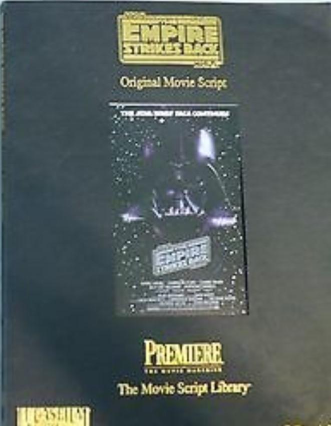 The Empire Strikes Back: The Movie Script Library