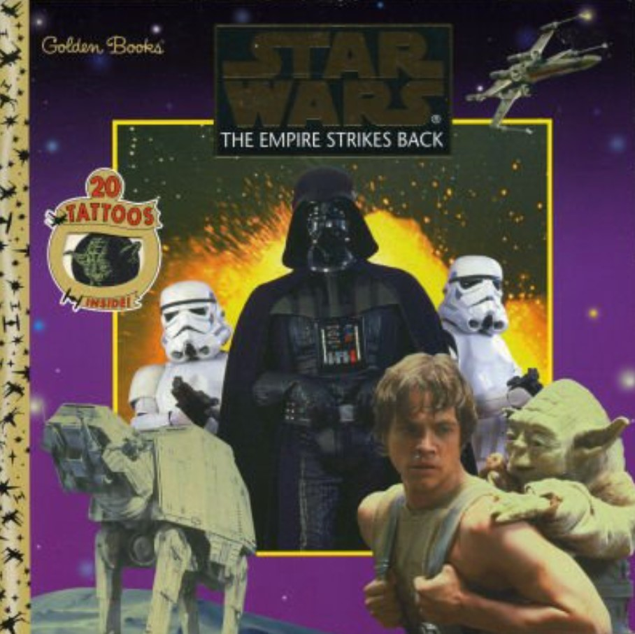 Star Wars: The Empire Strikes Back (Golden Book w/ Tattoos)