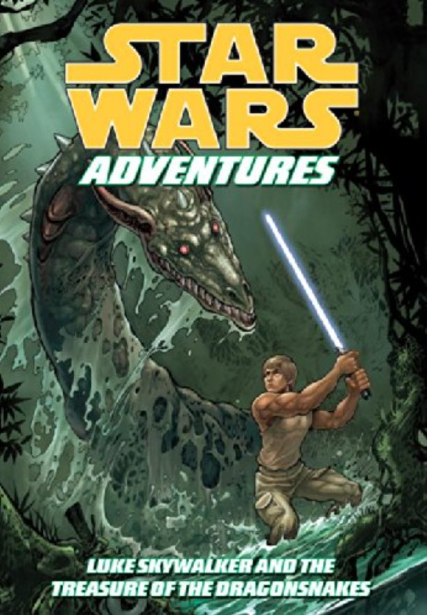 Star Wars Adventures: Luke Skywalker and the Treasure of the Dragon Snakes