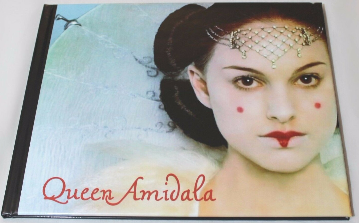 Queen Amidala Fashion Book