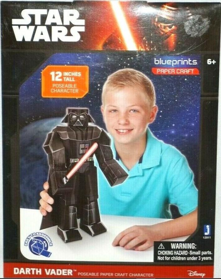 Star Wars Blueprints Paper Craft - Darth Vader
