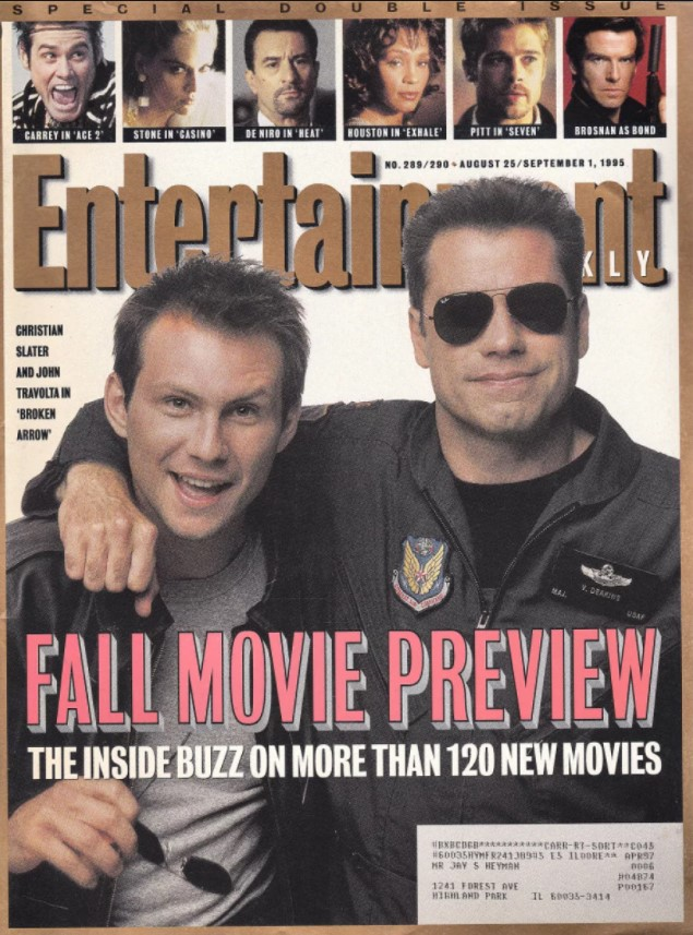 Entertainment Weekly September 1995
