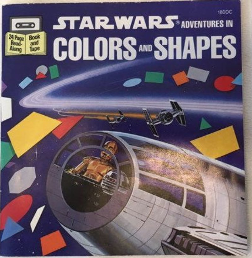 Star Wars Adventures in Colors and Shapes (Book and Tape)