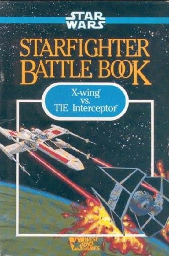 Star Wars: Starfighter Battle Book - X-Wing vs. Tie Interceptor