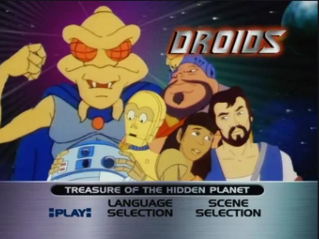 Droids: Treasures of the Hidden Planet