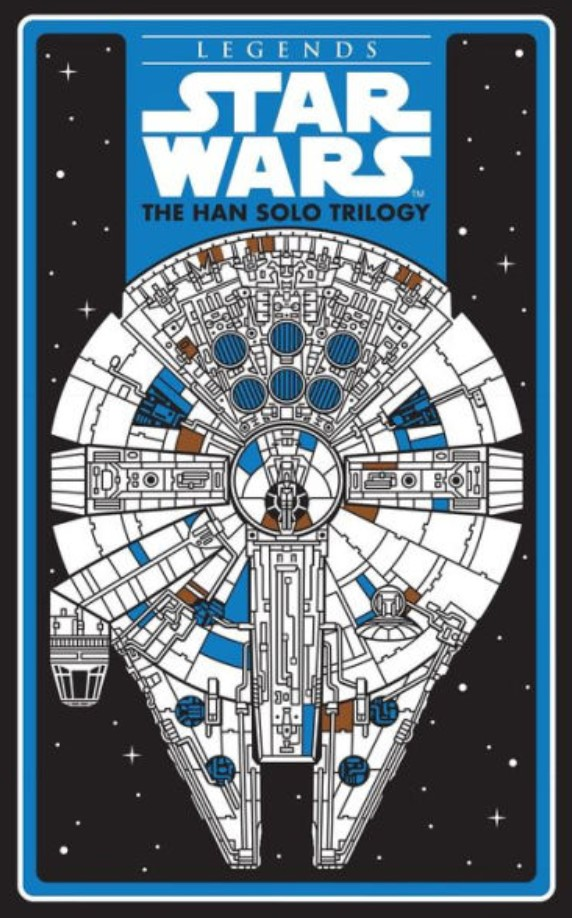 Star Wars: The Han Solo Trilogy (Barnes & Noble hardcover)