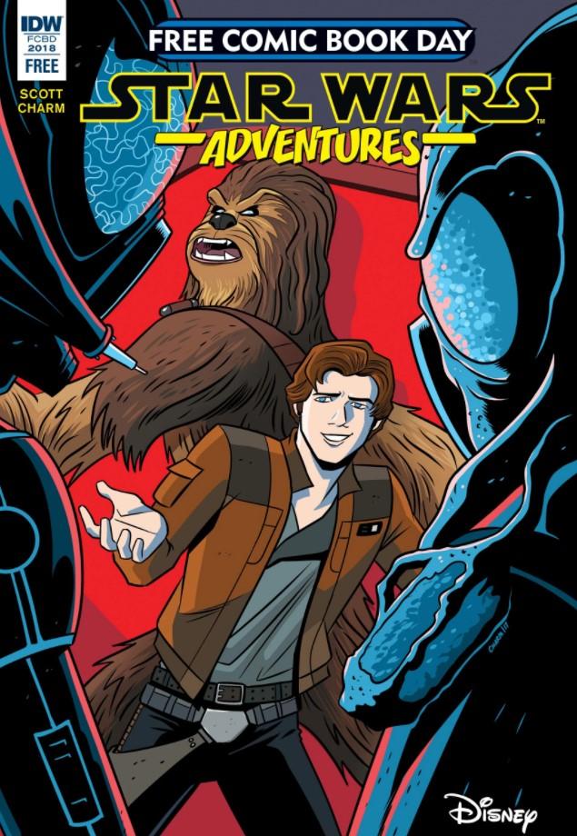 Star Wars Adventures: Hunter vs. Hunted