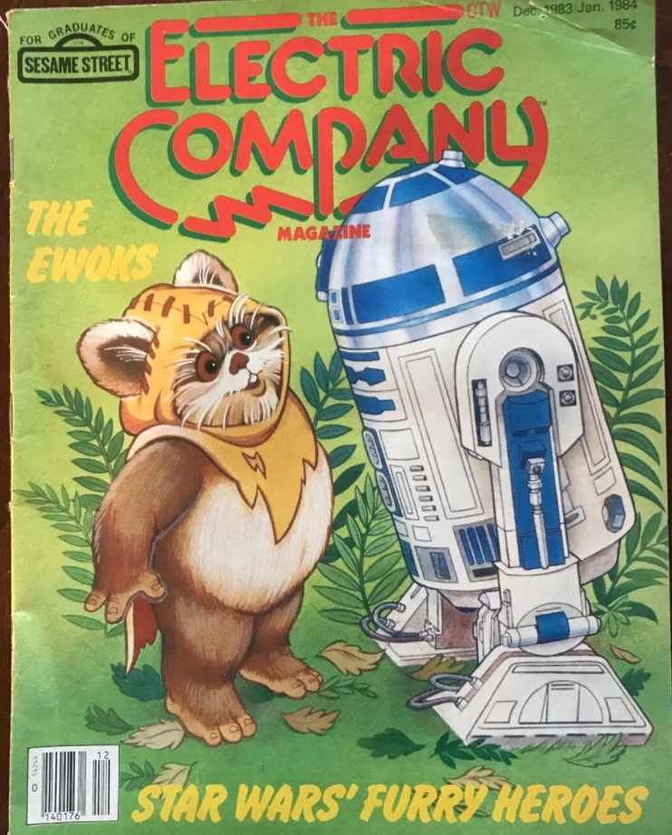 The Electric Company Magazine December 1983-January 1984