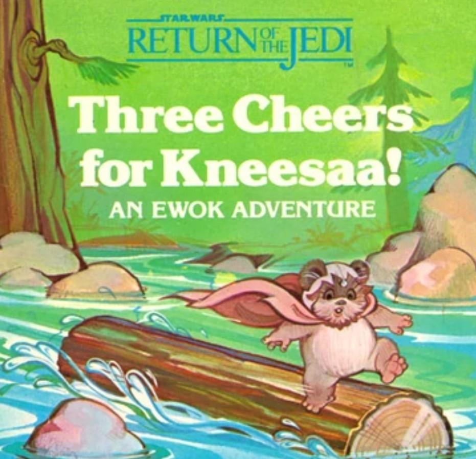 Three Cheers for Kneesaa!