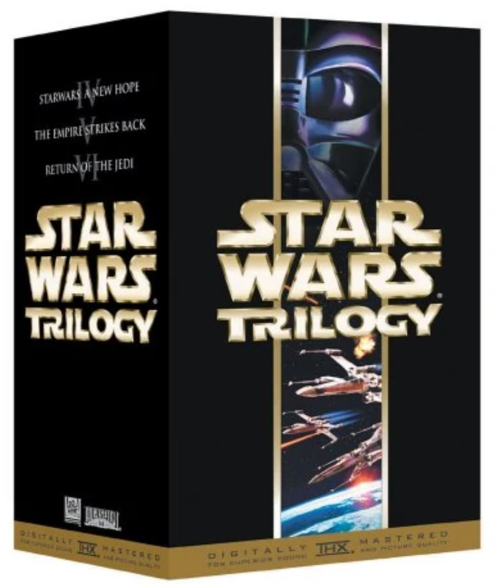 Star Wars Trilogy (2000 VHS)
