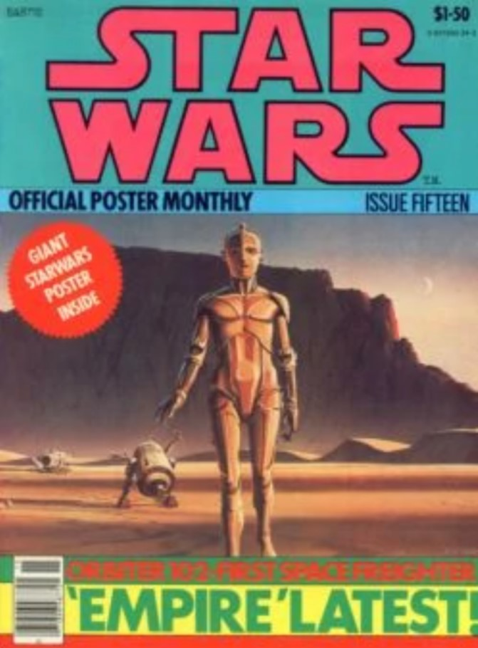 Star Wars Official Poster Monthly 15