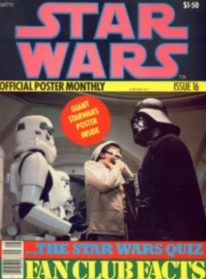Star Wars Official Poster Monthly 16