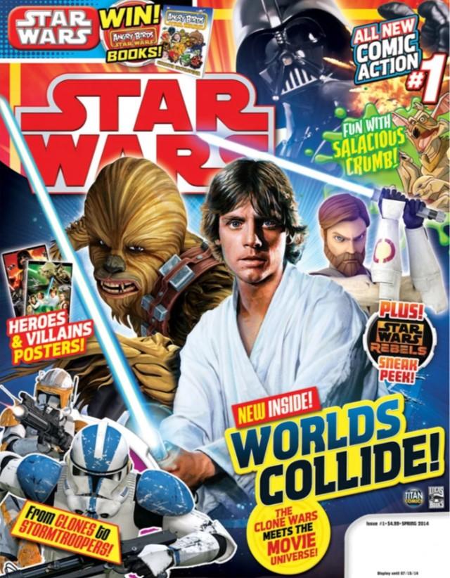 Star Wars Magazine 1