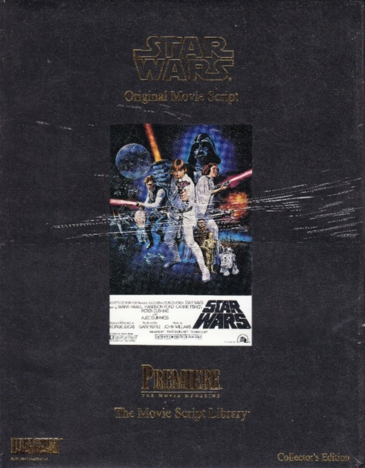 Star Wars: The Movie Script Library