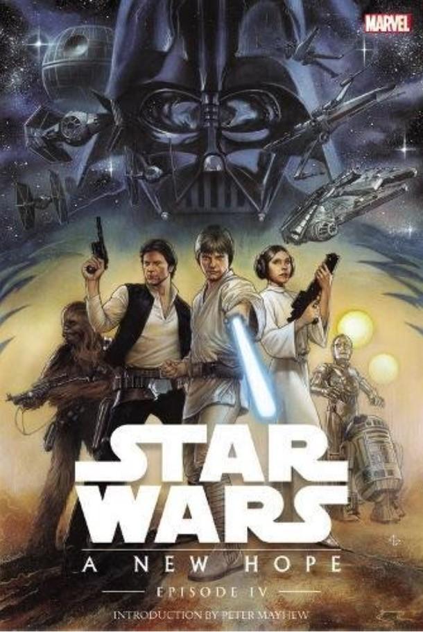 Star Wars Episode IV: A New Hope (Marvel Remastered Edition - paperback)
