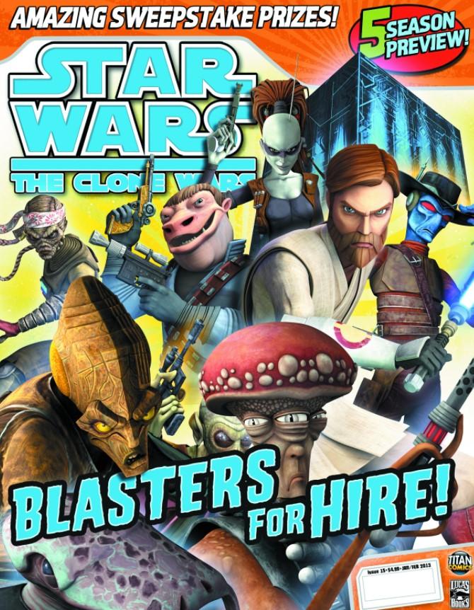 Star Wars The Clone Wars Magazine 15