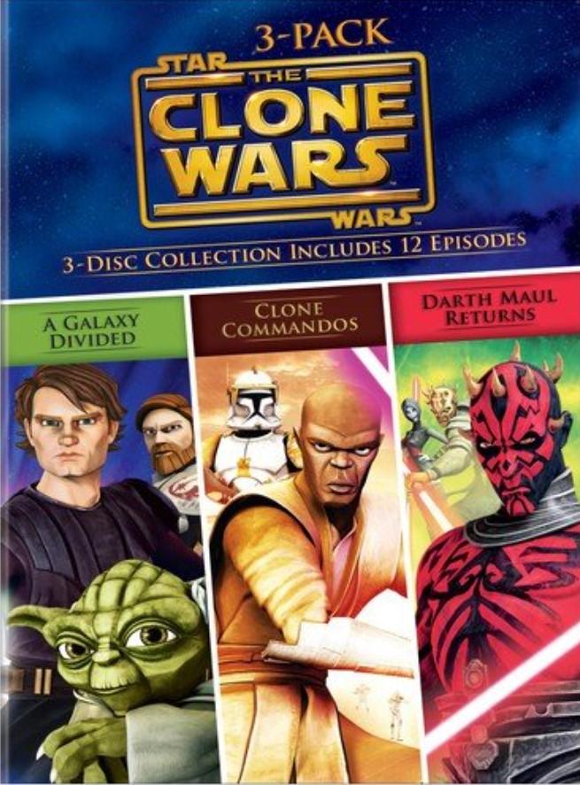Star Wars: The Clone Wars 3-Pack (DVD)