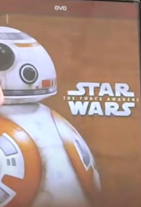 Star Wars: The Force Awakens (Walmart Exclusive DVD 2017)