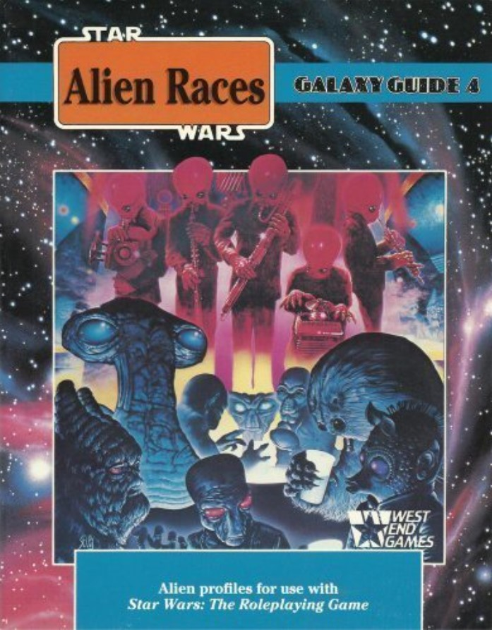 Star Wars Galaxy Guide 4: Alien Races