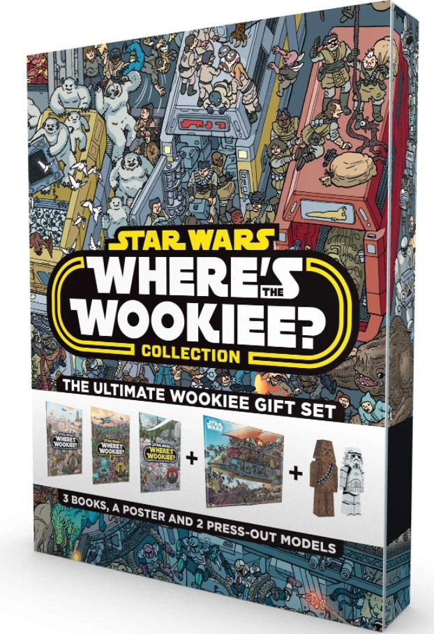 Star Wars: Where's the Wookiee Coloring Book