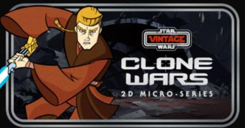 Star Wars Vintage: Clone Wars 2D Microseries