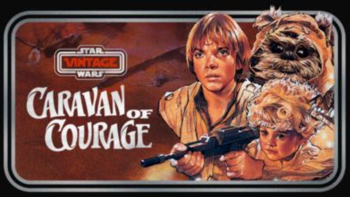 Star Wars Vintage: Ewoks Caravan of Courage