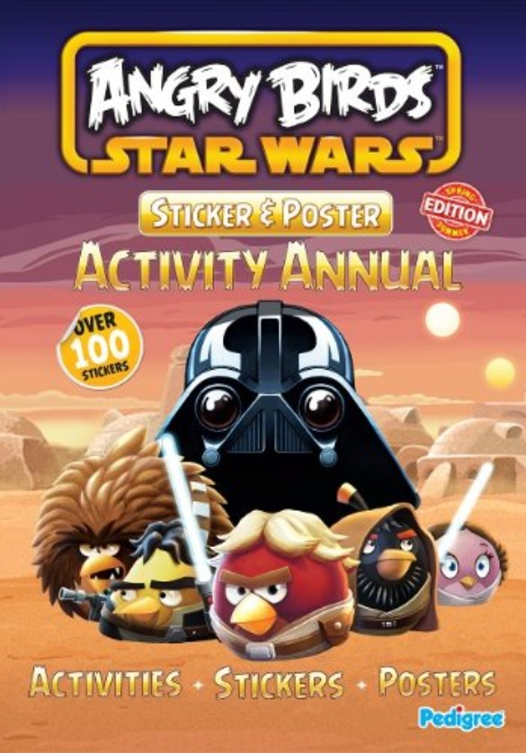 Angry Birds Star Wars: Sticker and Poster Activity Annual (2013)