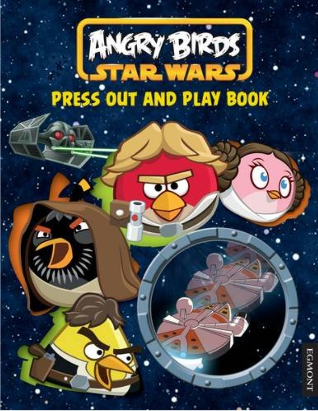 Angry Birds Star Wars Press Out and Play Book