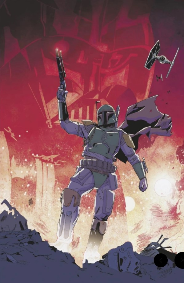 Star Wars: War of the Bounty Hunters Alpha - Comic Book Dealer Virgin Variant
