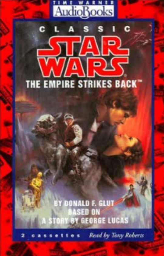 Classic Star Wars: The Empire Strikes Back (audio book)