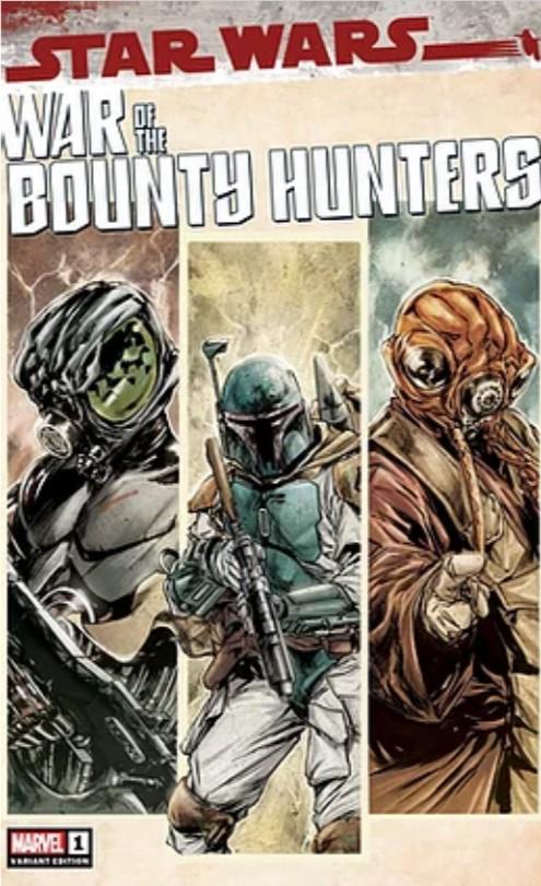 Star Wars: War of the Bounty Hunters 1 - Jolzar Comics Variant