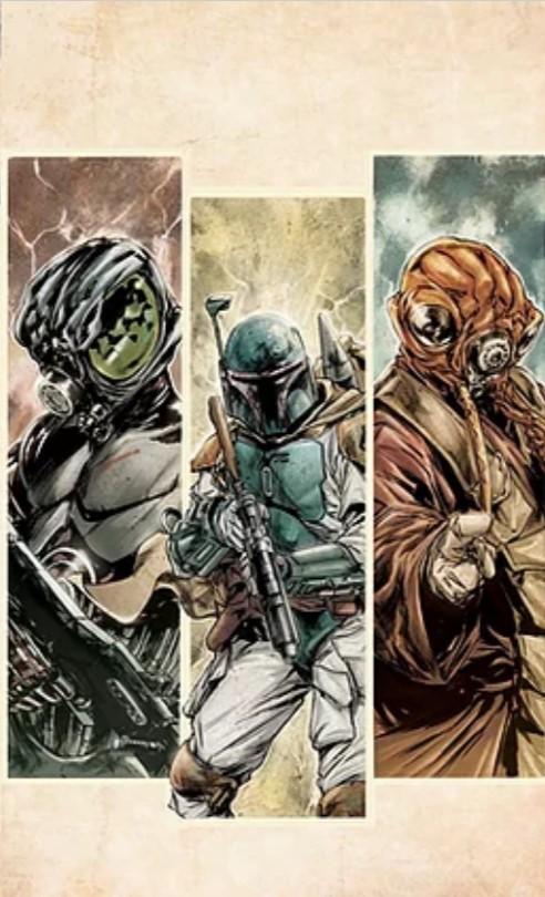 Star Wars: War of the Bounty Hunters 1 - Jolzar Comics Virgin Variant
