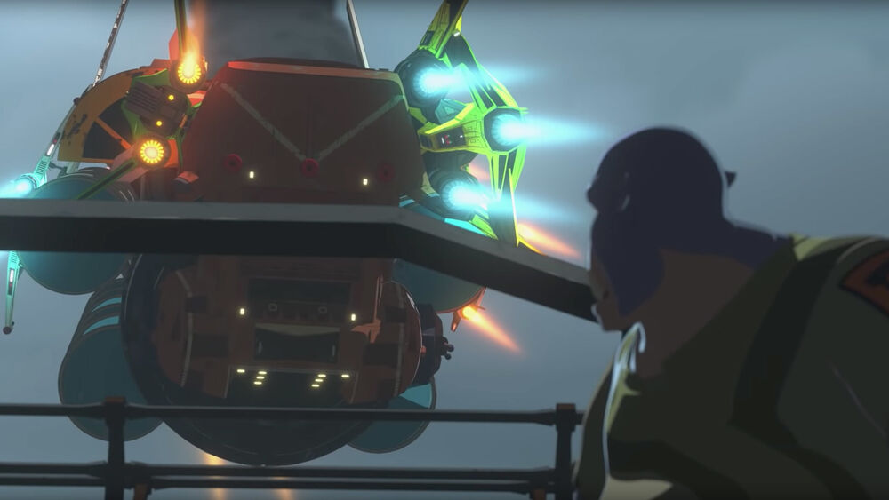 Star Wars Resistance: Sixty Seconds to Destruction