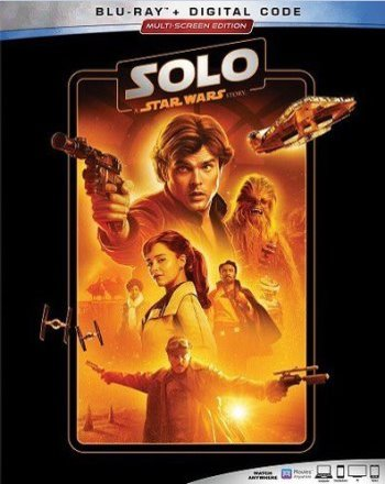 Solo: A Star Wars Story (2019 Blu Ray)