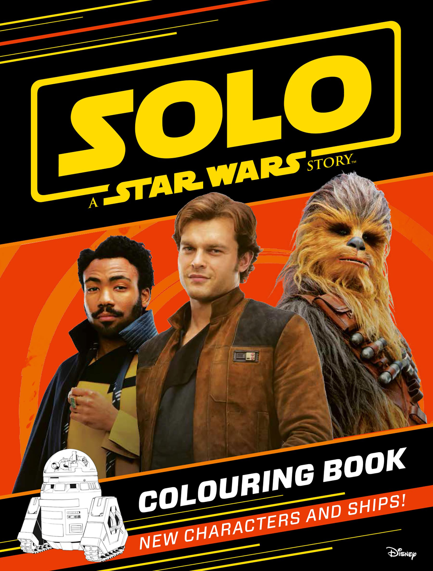 Solo: A Star Wars Story - Colouring Book