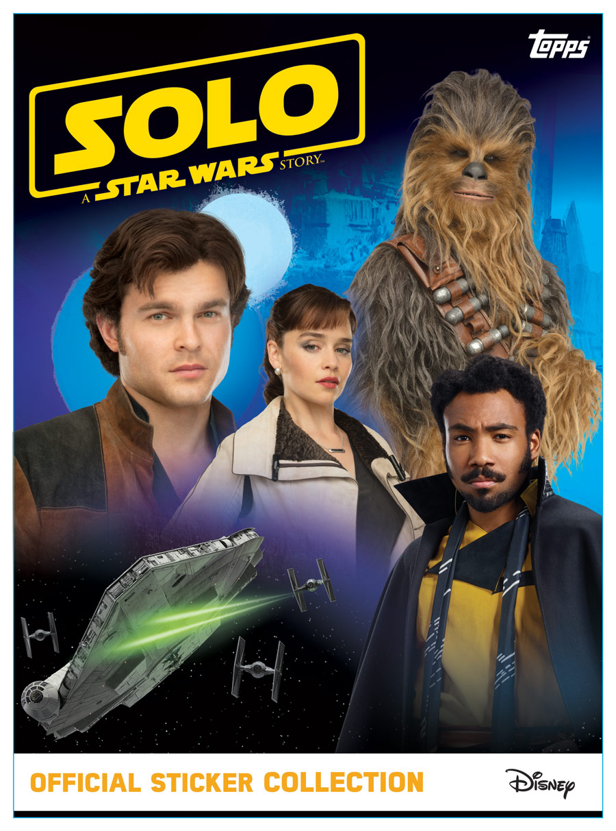 Solo: A Star Wars Story - Official Sticker Collection