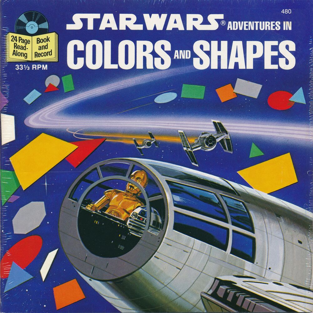Star Wars Adventures in Colors and Shapes (Book and Record)
