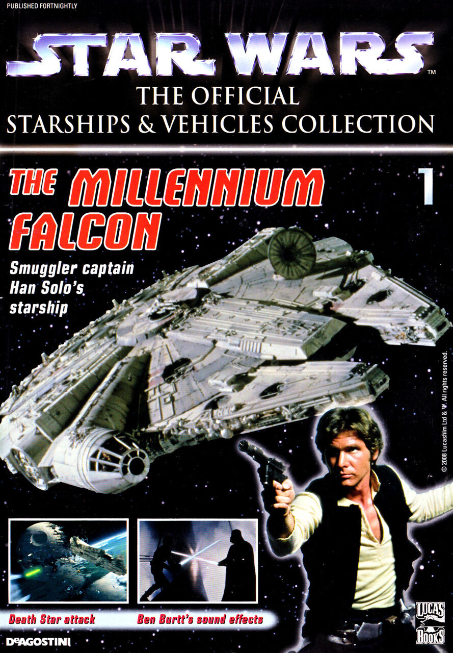 Star Wars: The Official Starships and Vehicles Collection 1 - The Millenium Falcon