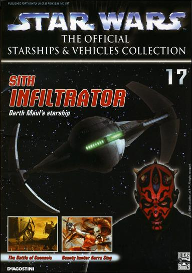Star Wars: The Official Starships and Vehicles Collection 17 - Sith Infiltrator