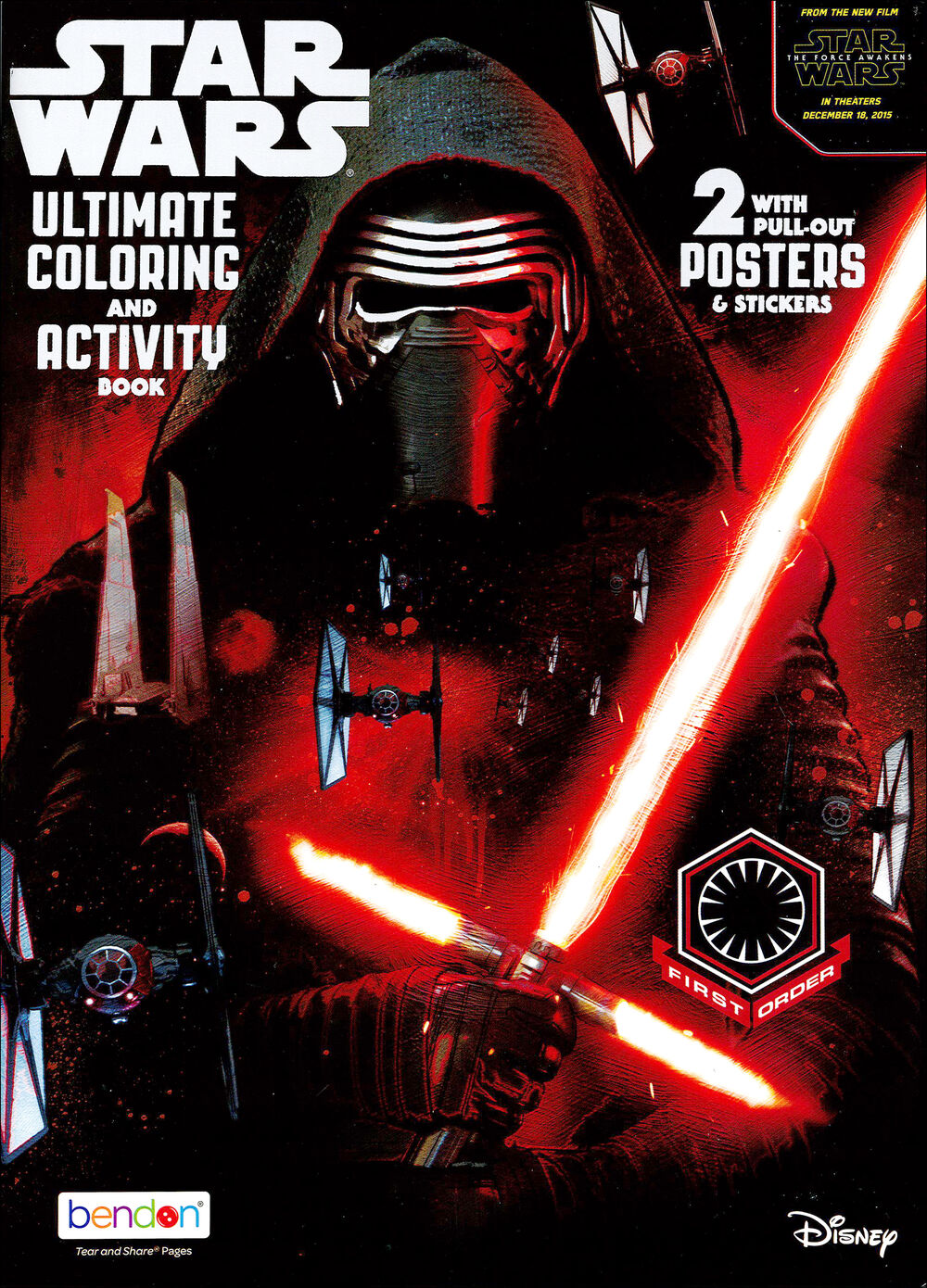Star Wars Ultimate Coloring and Activity Book