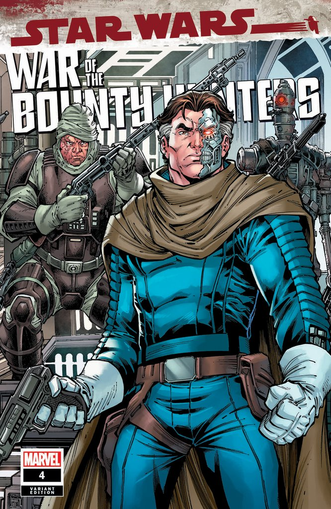 Star Wars: War of the Bounty Hunters 4 - Comic Kingdom Variant