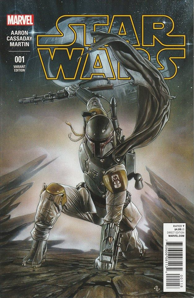 Star Wars 1 (Marvel 2015) - Iron Man / Fett Variant