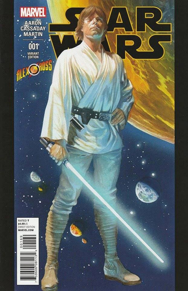 Star Wars 1 (Marvel 2015) - Alex Ross Store Variant