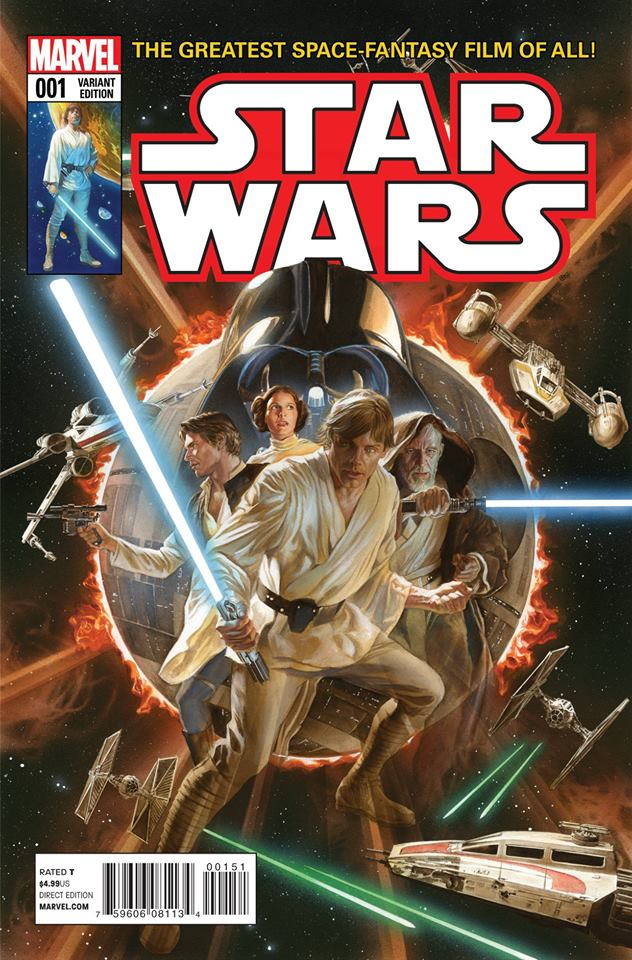 Star Wars 1 (Marvel 2015) - Alex Ross Variant