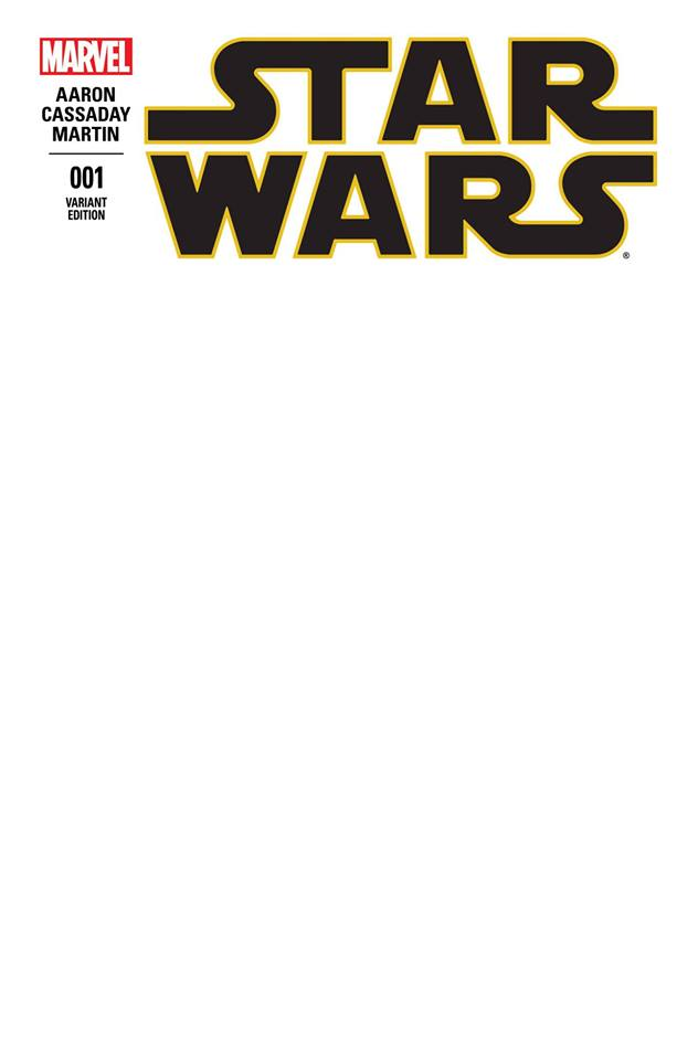Star Wars 1 (Marvel 2015) - Blank Variant