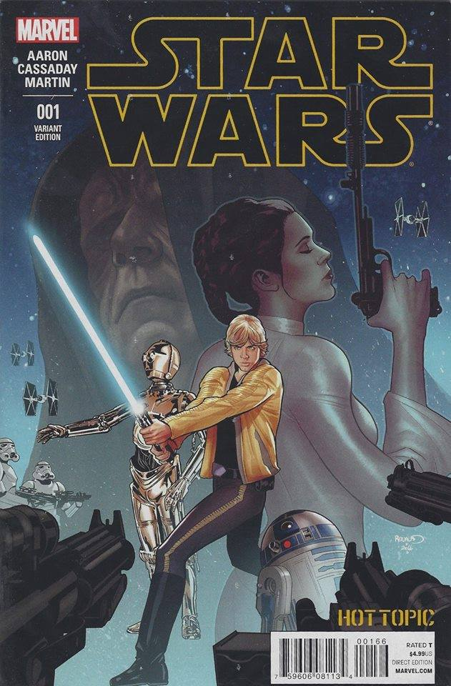 Star Wars 1 (Marvel 2015) - Hot Topic Variant