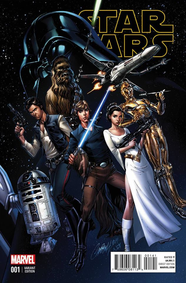 Star Wars 1 (Marvel 2015) - Campbell Variant