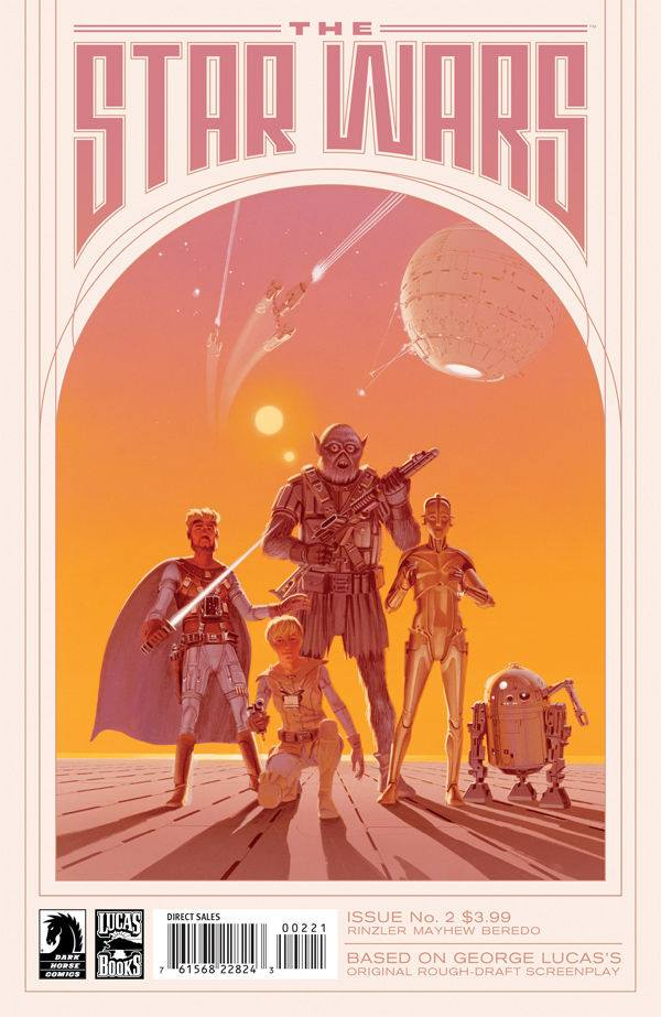 The Star Wars 2 Ralph McQuarrie Variant